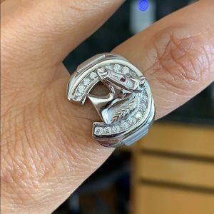 Other - 16mm 925 Sterling Silver men's Wedding Band Ring